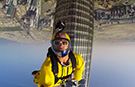 Video: Watch Skydive Dubai daredevils set new BASE jump world record with leap from Burj Khalifa