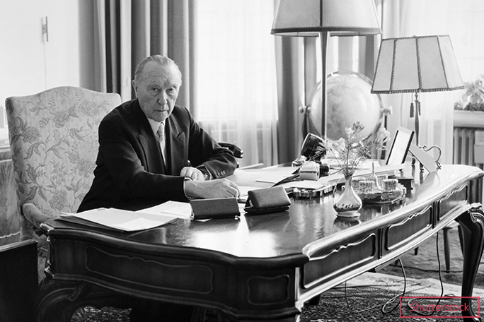 The former Chancellor of West Germany Konrad Adenauer is the oldest TIME Person of the Year