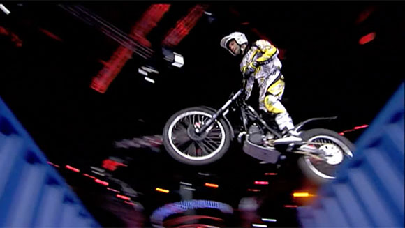 Guinness World Records Classics: Most jumps between containers on trial motorcycles