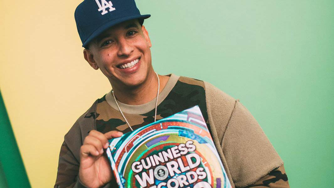 Daddy Yankee 'crosses item off bucket list' as he earns 10 Guinness World Records titles
