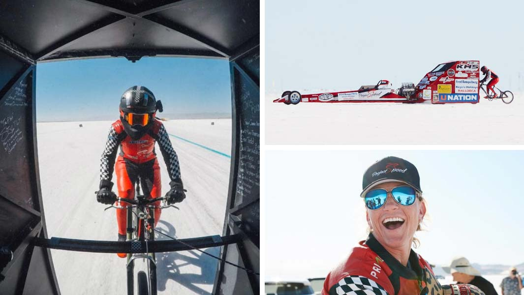 10d91c89420 A history of cycling speed records as Denise Mueller-Koronek reaches 183 mph
