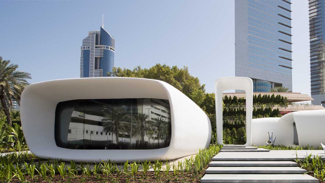 Dubai is now home to the world's first 3D-printed commercial building