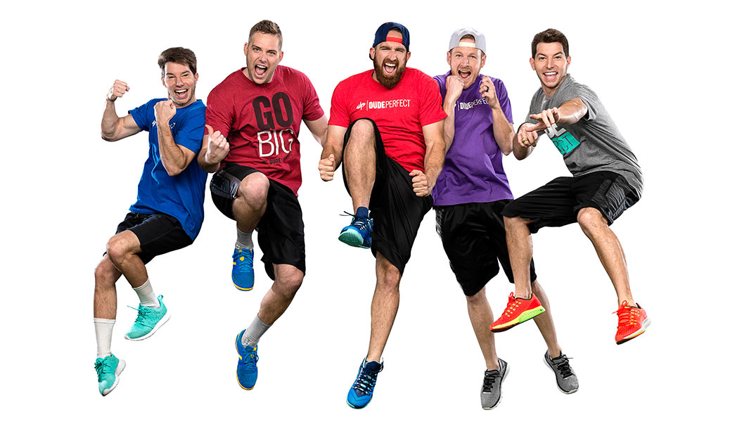 YouTube stars Dude Perfect set more records on latest Nickelodeon show