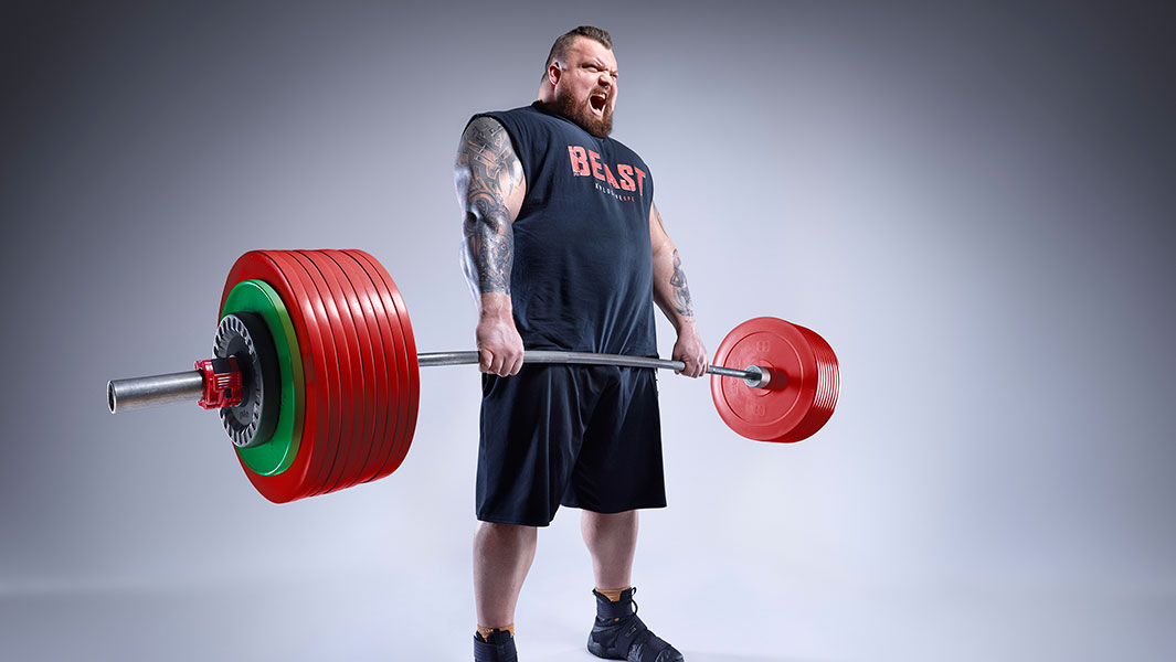 Video: World's Strongest Man winner Eddie Hall shares his intense eating and training regime