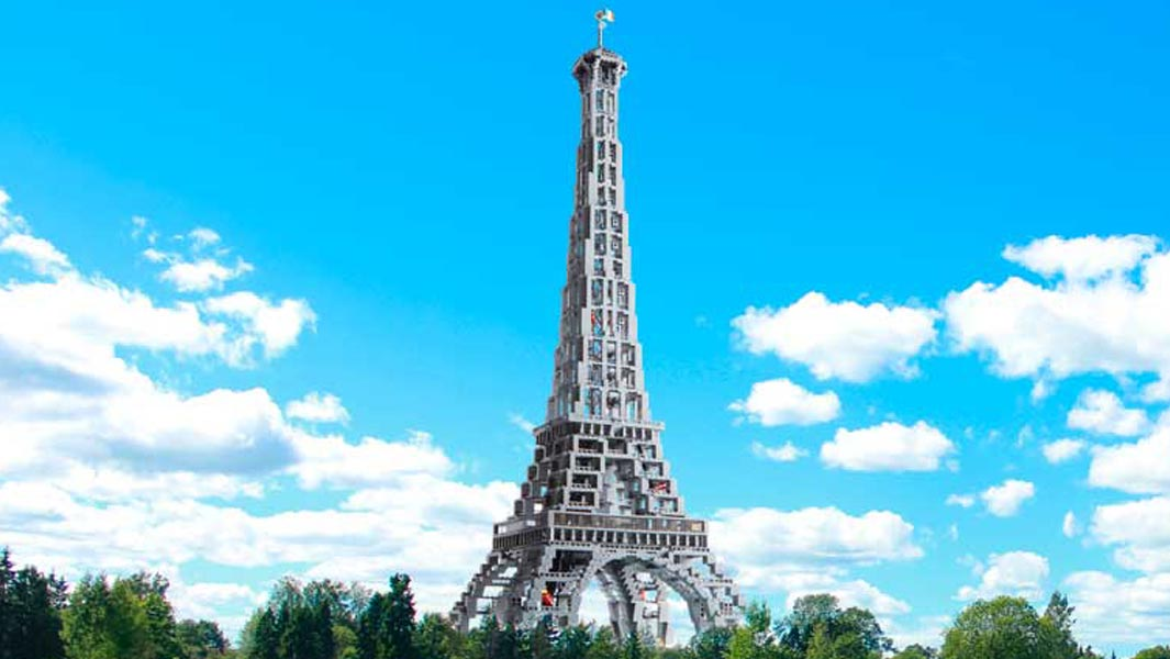 Win the LEGO® Eiffel Tower from Guinness World Records 2019