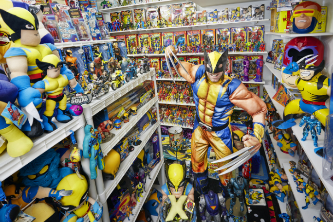 Largest collection of X men 4