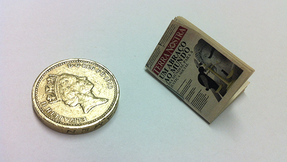 From the Archives - Smallest Newspaper