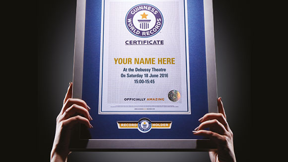 Becoming legendary: Ten new records Guinness World Records wants you to break