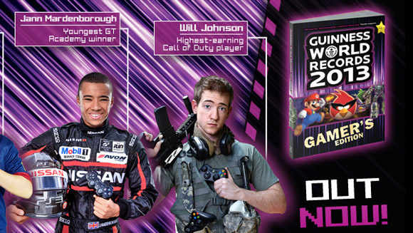 Incredible new FIFA and Call of Duty gaming feats among those to appear in Guinness World Records 2013 Gamer's Edition