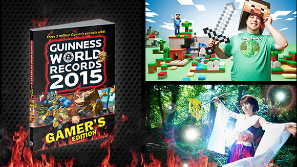New FIFA, Minecraft and Tomb Raider world records revealed in Guinness World Records 2015 Gamer's Edition