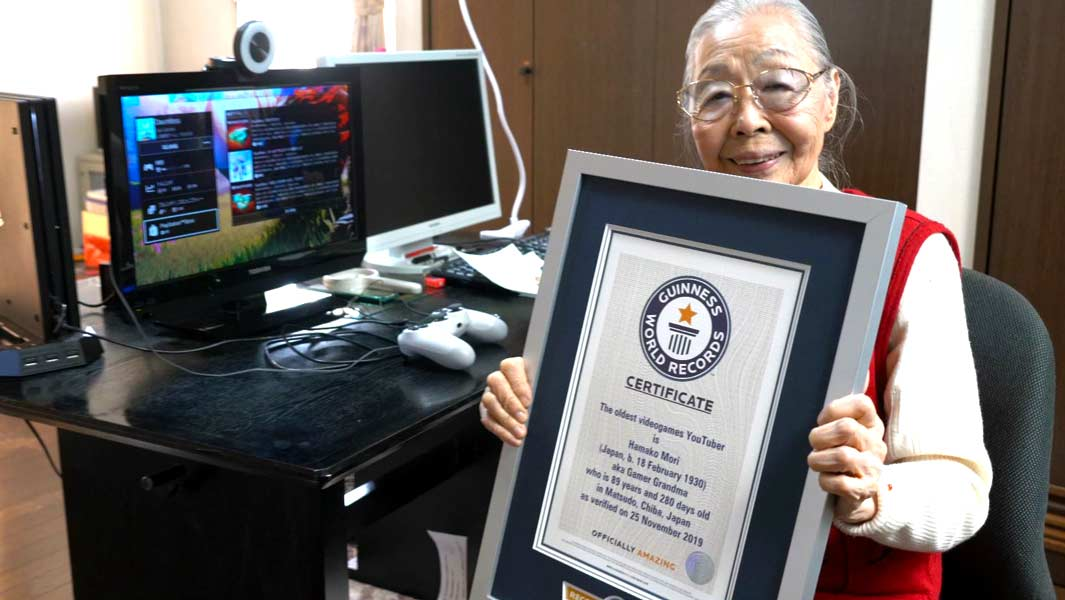 90-year-old Gaming Grandma says gaming changed her life