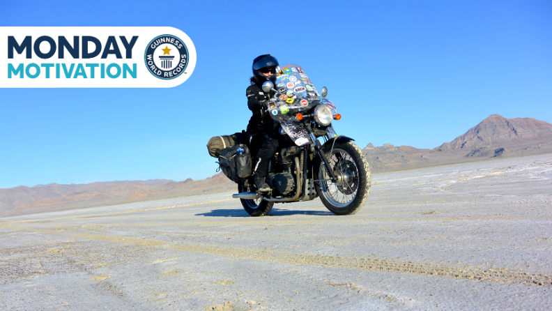 Monday Motivation: How Danell Lynn conquered all 50 states on the back of a motorcycle