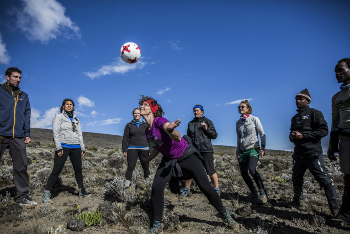 Highest altitude game of football (soccer) 14