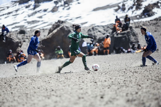 Highest altitude game of football (soccer) 16