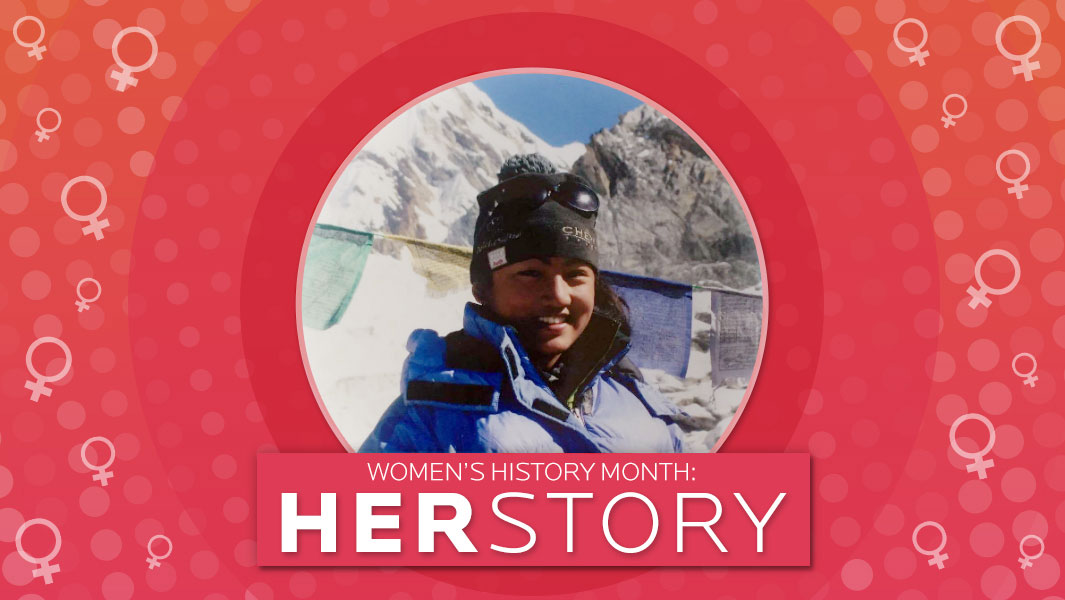 HER Story: Chhamji Sherpa and her epic journey climbing Everest aged just 16