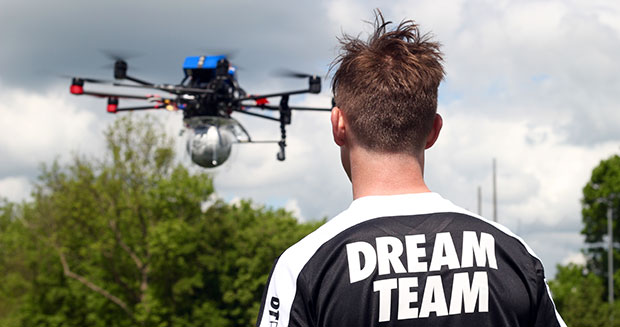 definition of drone camera