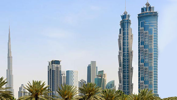 Dubai s jw marriott marquis claims world s tallest hotel for Tallest hotel in the world