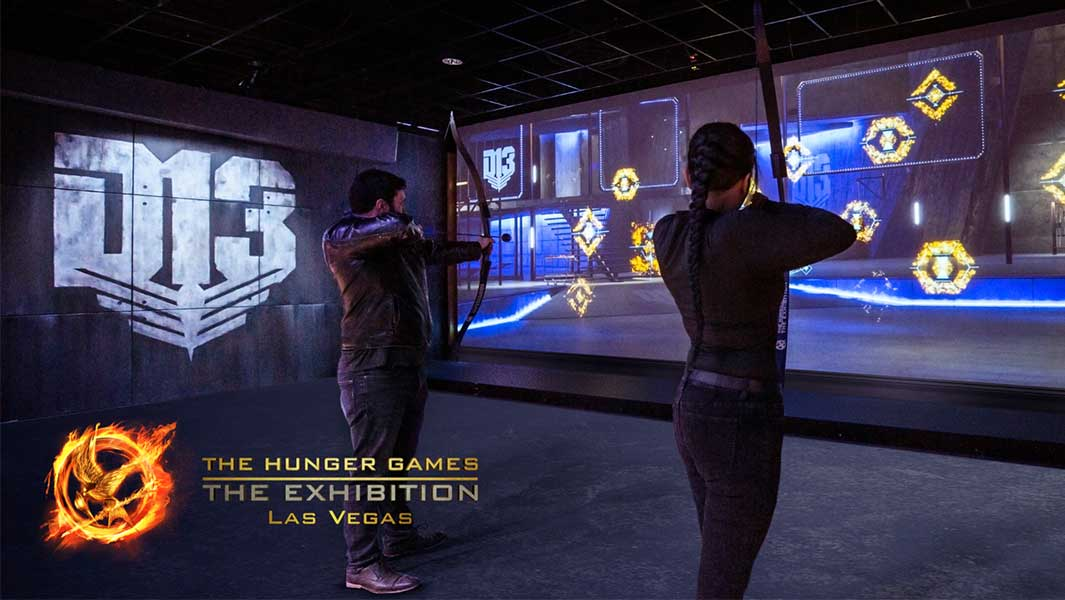 Record-breaking touchscreen display unveiled at new Hunger Games attraction