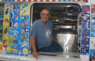 Allan Ganz breaks record for longest career as an ice cream man