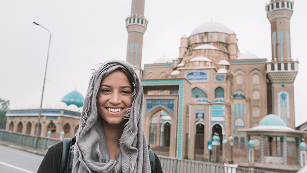 Around the world by 21: The woman who has visited all 195 countries by a record-breaking age