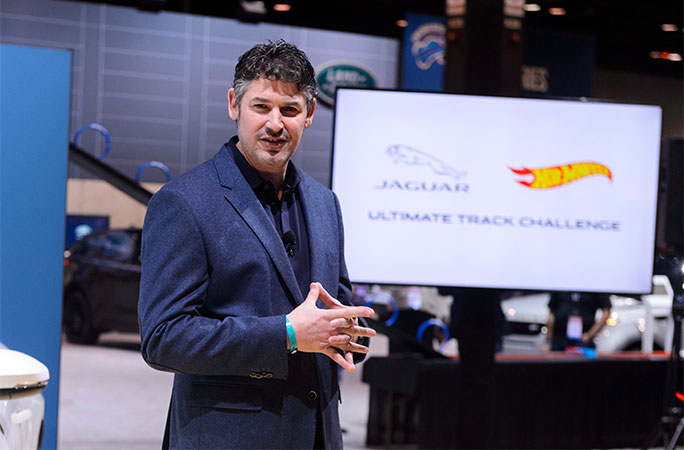 Jaguar and Hot Wheels Ultimate Track Challenge announcement