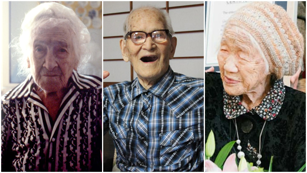 what is the record for the oldest living person
