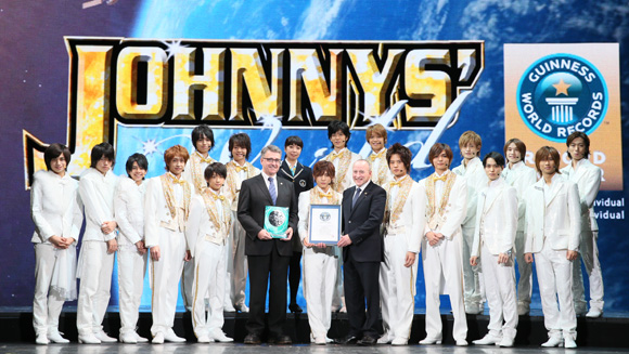 Japanese producer Johnny Kitagawa produces the most #1 acts by an individual