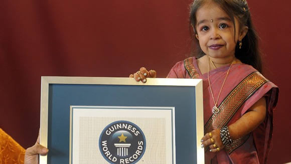Video: Meet Jyoti Amge - the world's smallest woman