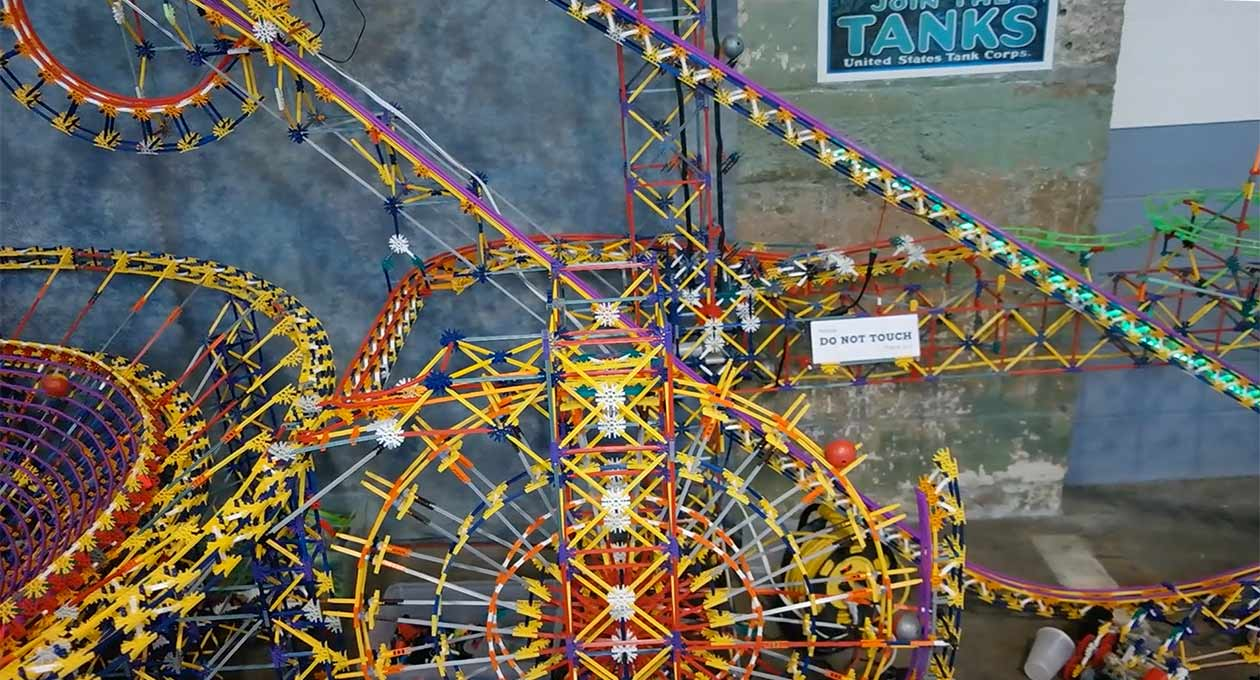 KNEX Guinness World Records Ball Contraption