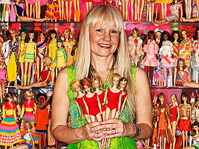 Largest collection of Barbie dolls