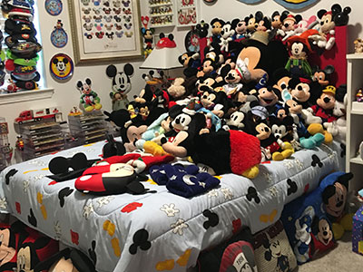 Largest collection of Mickey Mouse memorabilia