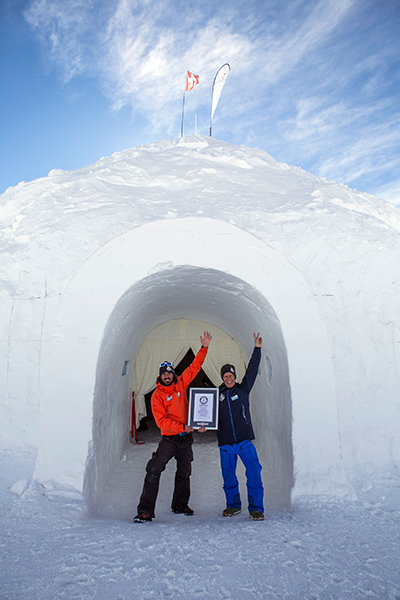 Largest-dome-igloo-made-of-snow-certificate