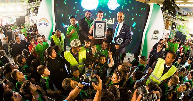 Largest gathering of people dressed as Ben 10 certificate presentation