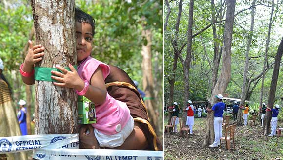 International Day of Forests: 4,620 people set record for largest tree hug in India
