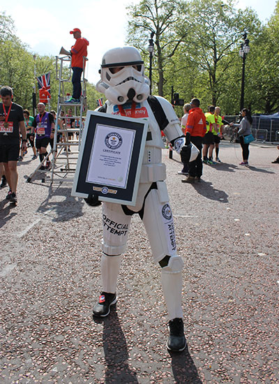 London Marathon Storm Trooper