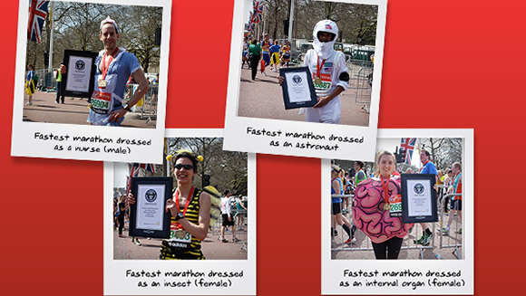 Running the Virgin Money London Marathon 2015? Find out how you could be a world record holder