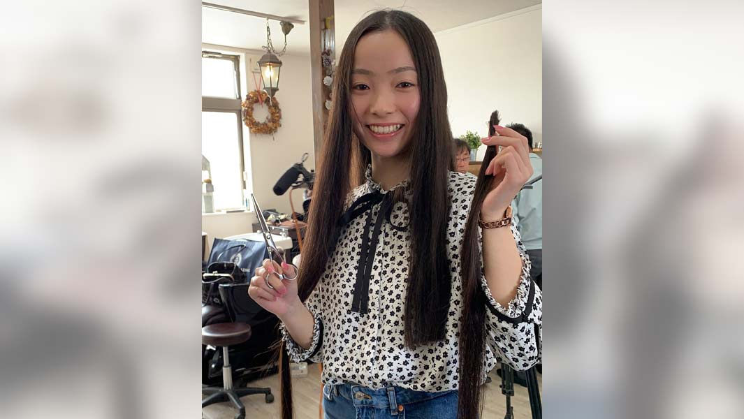 Woman who held longest hair record has her first ever haircut