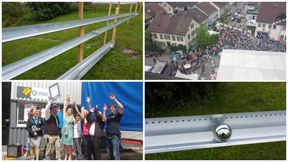 Video: Watch epic marble run roll Switzerland into the record books