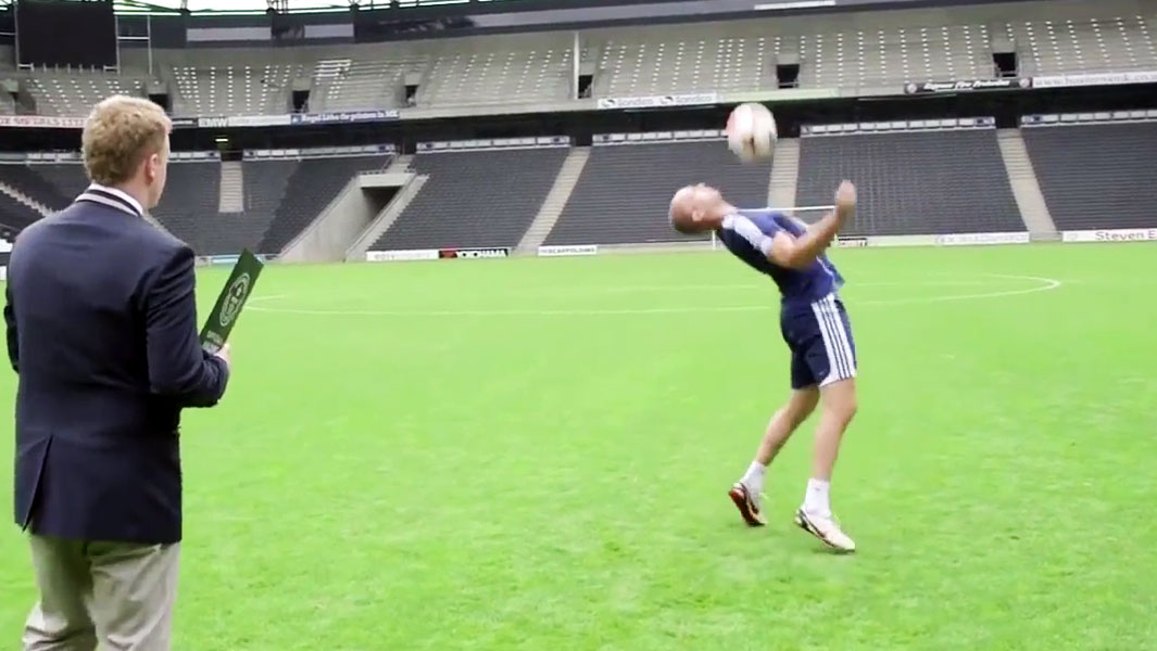 Chronicles of a Record Breaker: Freestyle footballer takes his fifth ball control title