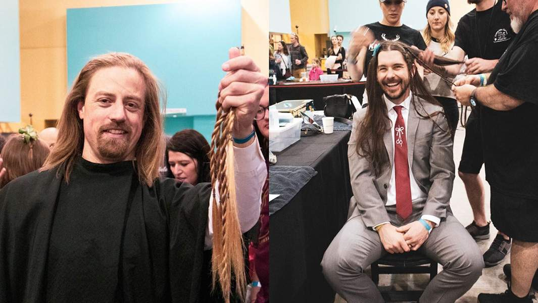 Shark Tank entrepreneurs donate record amount of hair to help Children With Hair Loss