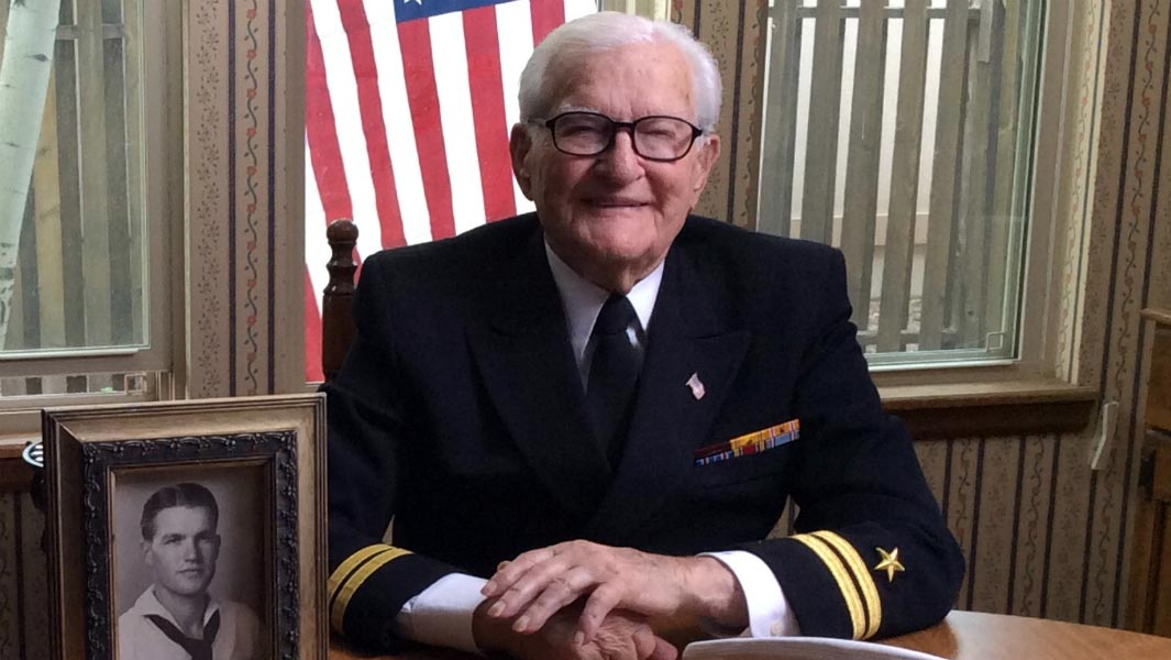 Pearl Harbor hero and world's oldest author Lt. Jim Downing passes away aged 104