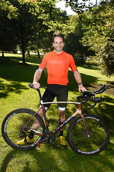 Mark Beaumont Edinburgh