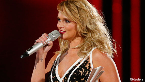 Miranda Lambert and Brad Paisley honored as world records tumble at Academy of Country Music Awards