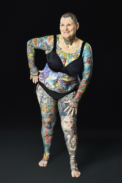 Senior citizen breaks record for most tattoos on the body ...