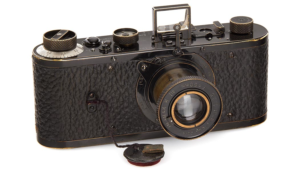 Mint condition 1923 Leica camera sells for a record-breaking €2.4 million