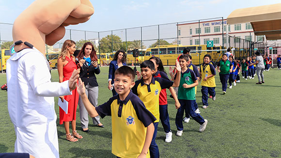 High fives for Lifebuoy as Unilever soap brand sets world record during handwashing campaign