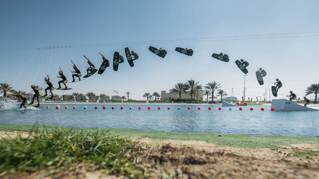 23-year-old Emirati smashes two wakeboarding records