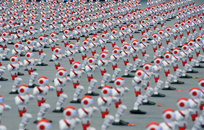 New Technology-and-Internet--Most-robots-dancing-simultaneously-Showcase-header