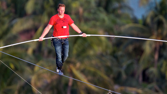 Top 10 Tightrope Records, Inspired by Nik Wallenda