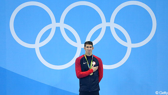 Rio 2016 Michael Phelps Gold Double Extends His Record As